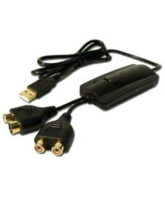 USB to Audio & Video Capture Adapter Cable