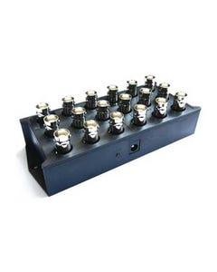 6 input to 12 output BNC Video Distributor
