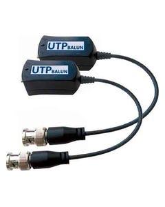 "Passive Video Balun 8"" Pigtail BNC Male (2pcs kit)"