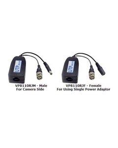 Passive Video/Power Lead Balun RJ45 Kit