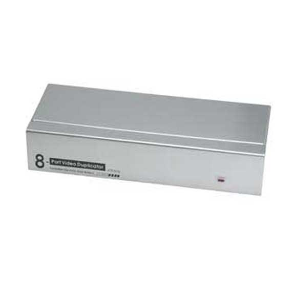 8-Way VGA Splitter 450MHz Max 2048x1536 Resolution