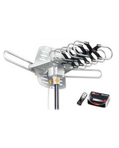 Amplified HD Digital Outdoor HDTV Antenna with Motorized 360