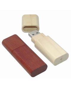 USB Polished Wood Flash Drive