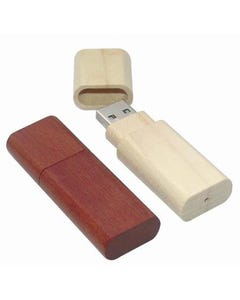 USB Polished Wood Flash Drive