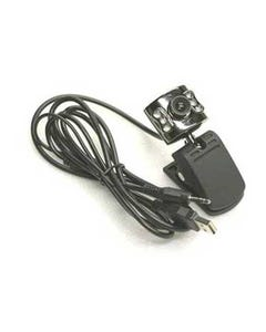 6-LED Infrared Night-Vision USB 1.3 MP Webcam with Audio Microphone