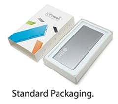 X-POWER XS (3000mAH Power Bank) in color box