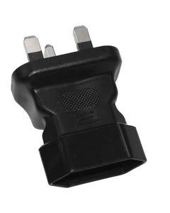 European CEE7/16 to UK BS1363 Power Plug Adapter