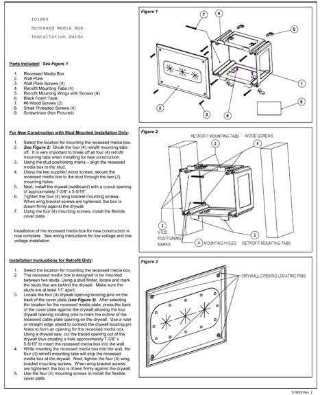 Recessed Media Box