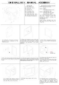6U Wallmount Cabinet DIY Kit