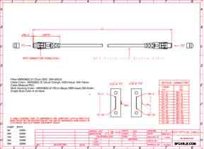 50/125 Standard MTP Fiber Patch Cable