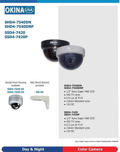 Sony Super HAD Dome 420TL, SSD4-7420