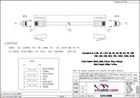 Cat5e Non-Booted Unshielded (UTP) Ethernet Network Cable