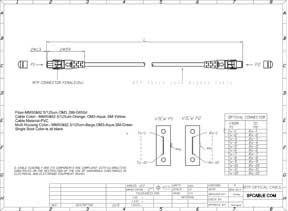 9/125 Standard MTP Fiber Patch Cable