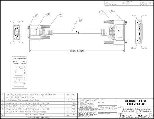 Db9 Null Modem Wiring Diagram. Null Modem Connector, Db 9 ... Db Null Wiring Diagram on