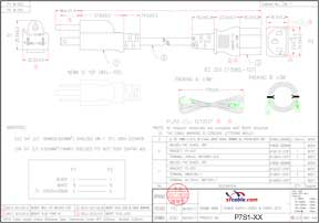18 AWG NEMA 5-15P to C13 Shielded Standard Power Cord