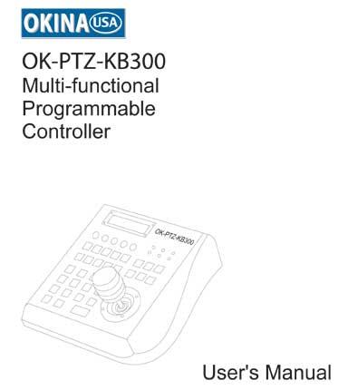 3-axis LCD Display keyboard Controller