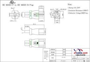 C7 to C6 Power Plug Adapter
