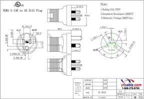 USA to Australia Power Plug Adapter