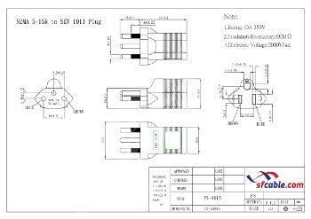 USA to Swiss Plug Adapter