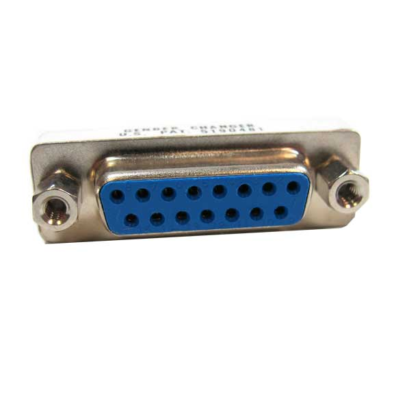Sf Cable DB15 F/F Mini Gender Changer for MAC (Coupler) at Sears.com