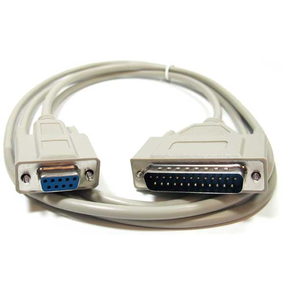 Sf Cable 1ft DB9 Female to DB25 Male Serial Adapter Cable at Sears.com