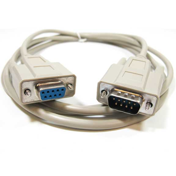 Sf Cable 1ft DB9 M/F 9C Serial Straight Thru Extension Cable at Sears.com