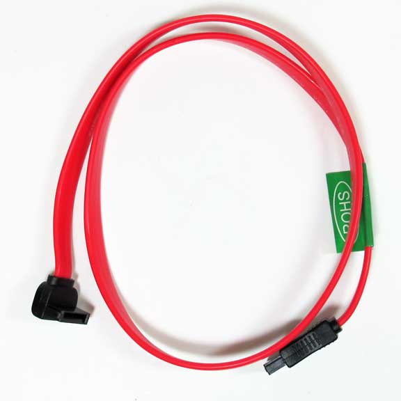 "Sf Cable 20"" Straight/Right Angle (down) SATA150 Cable at Sears.com"