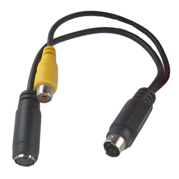 "generic 6"" DVD TV Card to S-VideoRecorder and Digital Still Camera Cable at Sears.com"