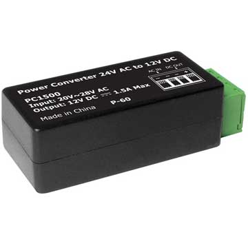 OKINA Power Converter 24V AC to 12V DC up to 1500mA at Sears.com