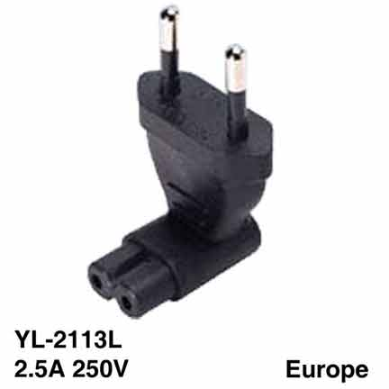 Sf Cable NEMA 1-15P with ground strap to NEMA 5-15R 2 prong USA receptacle Right Angle at Sears.com