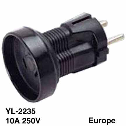 Sf Cable Australian AS3112 Receptacle to European Schuko CEE 7 Plug 3 Prong Adapter at Sears.com