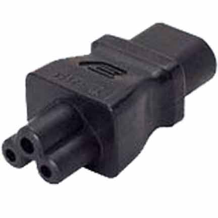 Sf Cable IEC C8 2 prong plug to C5 3 prong receptacle at Sears.com