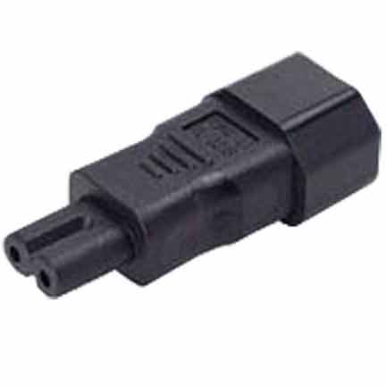 Sf Cable IEC C14 3 prong plug to C7 2 prong receptacle at Sears.com