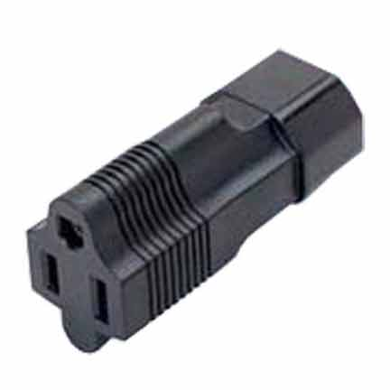 Sf Cable IEC C14 3 prong plug to NEMA 5-15R 3 prong USA receptacle at Sears.com