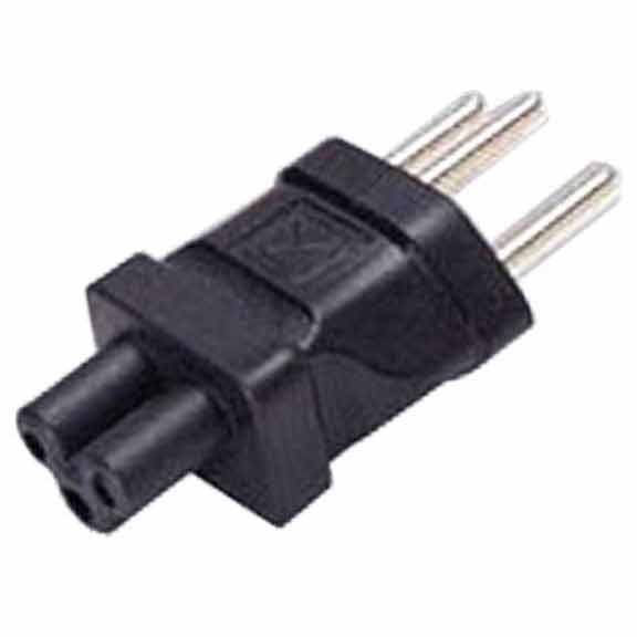 Sf Cable SEV1011 Swiss 3 prong plug to NEMA 5-15R 3 prong USA receptacle at Sears.com