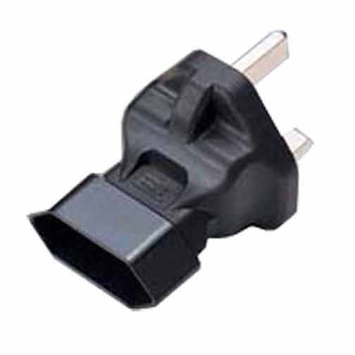 Sf Cable BS1363A UK fused 3 prong plug to CEE7 2 prong Europe receptacle at Sears.com
