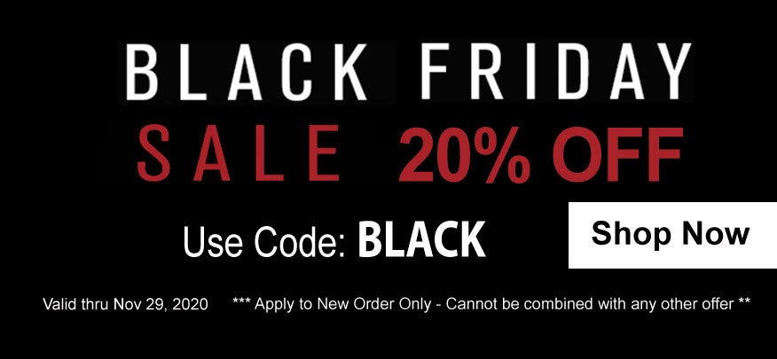 Black Friday Sale 20% OFF Starts Now