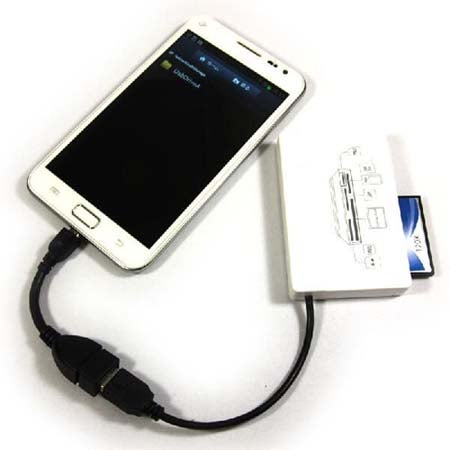 Micro USB OTG Adapter for Samsung Galaxy S3