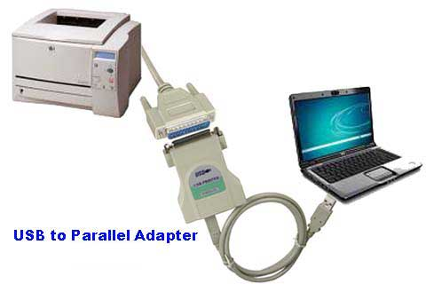 USB/Parallel Converter is the easiest way to connect your parallel device to the USB port