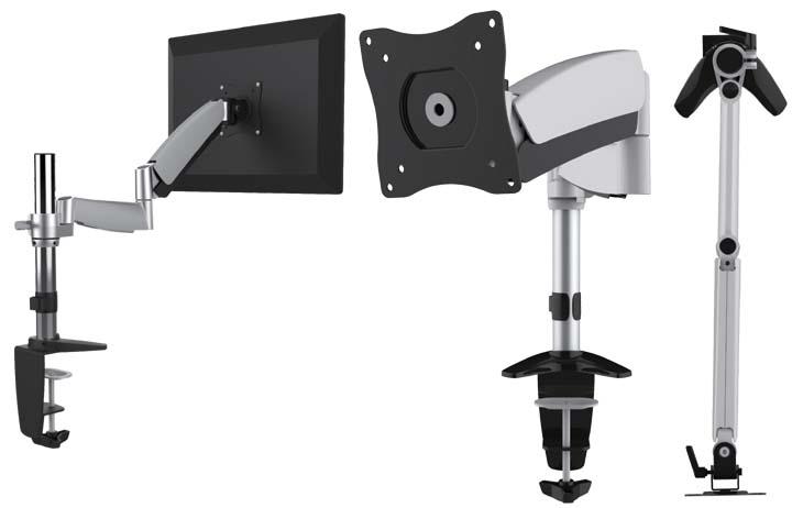 Single Monitor Counter balace Deskmount 13~27