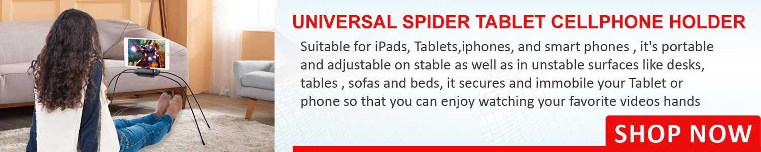 Universal Spider Tablet Cellphone Holder