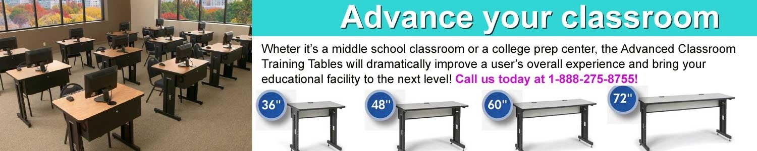 Advance your classroom with SF Cable's electronic training table
