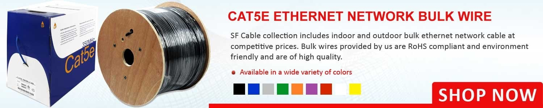 Cat 5E Bulk Wires