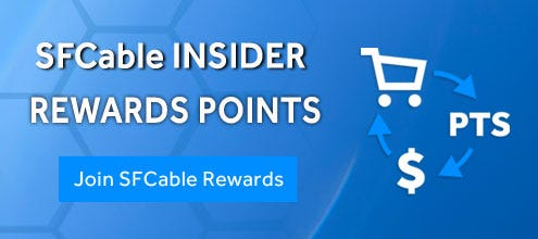 Shop with your points and redeem to spend on SF Cable Store